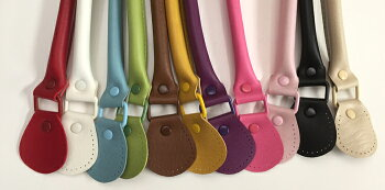 ◆INAZUMA合成皮革持ち手約46cm(YAK-590)裏あて4枚付◆イナズマ合皮バッグハンドルカラフルバッグ