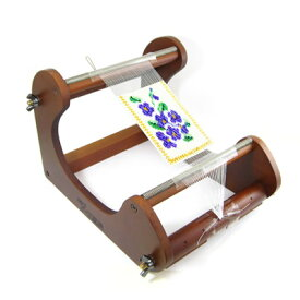 ◆デリカビーズ 織機 縦型中 LM-8[デリカビーズ・ビーズ織り機]◆織巾14cm