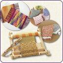◆手織り機「咲きおり」40cm◆クロバー製|織物|手芸|織機|プレゼント|ハンディサイズ【送料無料】
