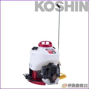 工進 背負い式エンジン動噴 10L 2サイクル カスケード式 ES-10C 【KOSHIN/背負いエンジン式噴霧器/代引不可】