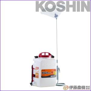 工進 背負い式乾電池噴霧器 消毒名人 10L DK-10D 【KOSHIN/背負い乾電池式噴霧器/代引不可】