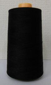 シキボウ 白鳥カタン糸(綿100%)80/5000m 黒
