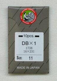 オルガン針 DBX1(10本入)9号・11号・14号・16号