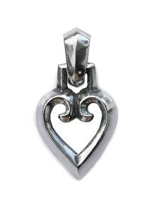 【※ポイント5倍※】REID MFG (リードMFG)【Gothic Heart Charm / ゴシック ハート チャーム】[正規品](ネックレス/ペンダント/ペア/プレゼント/ギフト/ユニセックス/メンズ/レディース)【送料無料