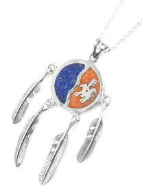 【※ポイント5倍※】Silver Dollar Craft(シルバーダラークラフト)【Comanche Shield Necklace ※JD Model / コマンチェ(コマンチ)シールドネックレス】[正規品](インディアンジュエリー/着用/愛用/シルバー/メンズ/レディース)【送料無料】