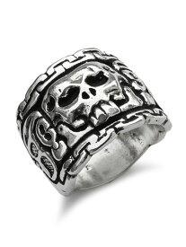 【※ポイント5倍※】Darren Simonian(ダレン シモニアン)【Mayan Skull Ring / マヤ スカル リング】[正規品](指輪/スカル/スターリングシルバー/マヤ文明/神殿/愛用/着用/銀/925/ペア/プレゼント/ユニセックス/メンズ/レディース)【送料無料】