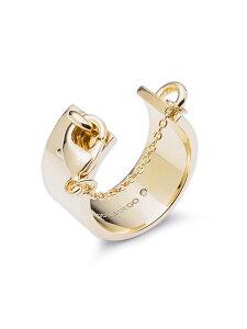 【※ポイント5倍※】Eddie Borgo(エディボルゴ)【Safety Chain RIng (GOLD) / セーフティー チェーン リング ゴールド】[正規品](指輪/きれいめ/大人/パーティー/カジュアル/フォーマル/プレゼント/