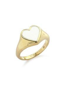 【※ポイント5倍※】Eddie Borgo(エディボルゴ)【ENAMEL HEART PINKY RING S / エナメルハート ピンキーリング】[正規品](指輪/かわいい/きれいめ/大人/パーティー/カジュアル/フォーマル/プレゼン