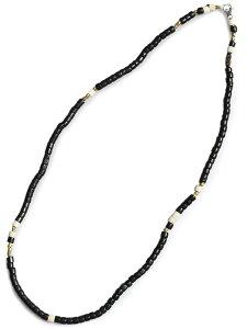 【※ポイント5倍※】GILES & BROTHER(ジャイルス・アンド・ブラザー)【Large Vintage African Bead Necklace / ラージ ヴィンテージ アフリカン ビーズ ネックレス (ブラック)】[正規品](ブレスレット/ア