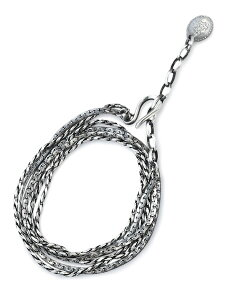 HARIM(ハリム)【CLOSELY CHAINS LONGNECK BRACE / クロースリーチェーン ロング ネックレス ブレスレット [HRC015L]】[正規品](2連/3連/スターリングシルバー/フリーサイズ/調節可能/925/銀/プレゼント/