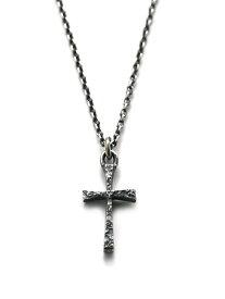 HARIM(ハリム)Decayed Cross / [HRP029] ネックレス ペンダント チャーム シルバー チェーン リリー クロス 十字 銀 百合 メンズ レディース【送料無料】
