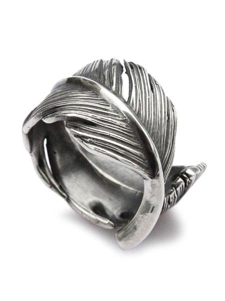 HARIM(ハリム)HARIM FEATHER RING L (OX) / [HRR036SV] フェザー リング 指輪 シルバー メンズ レディース【送料無料】