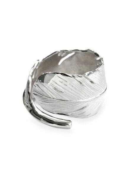 HARIM(ハリム)HARIM FEATHER RING 2 (WH) / [HRR040WH] フェザー リング 指輪 シルバー メンズ レディース【送料無料】