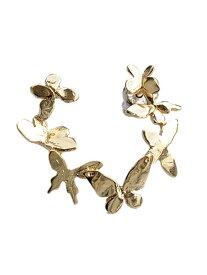 HARIM(ハリム)Rond of Butterfly ear pierce (ゴールド) / [HRA005G] 蝶 ピアス イヤリング メンズ レディース