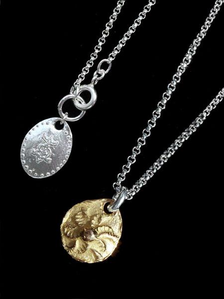 HARIM(ハリム)GOLD SUN Necklace (18k Gold) / [HRP089G_K18] 太陽 ネックレス ペンダント ゴールド シルバー メンズ レディース【送料無料】