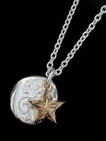【※ポイント5倍※】HARIM(ハリム)day breaker pendant 【daylight and star】 / [HRP099] ネックレス ペンダント シルバー スター ゴールド メンズ レディース【送料無料】