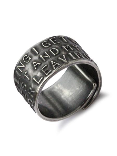 HARIM(ハリム)stairway to Heaven WIDE RING / [HRR037SV] リング 指輪 シルバー メンズ レディース【送料無料】