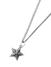 IDEALISM SOUND(イデアリズムサウンド)【イデアライト / IDEALITE Cut Coin STAR Necklace / カットコイン スターネックレス [IDL-N-0002]】[正規品](ペンダント/五芒星/25セント/スターリングシルバー/銀/925/プレゼント/ユニセックス/メンズ/レディース)