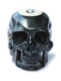 Lee Downey(リーダウニー)Carved Billiard Ball Skull - #8 / スカル ビリヤードボール ドクロ メンズ レディース【送料無料】
