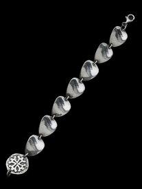 【※ポイント5倍※】Celia de Flers(セリー・デ・フレール)Guitar pic sterling silver bracelet / ギターピック シルバー ブレスレット バングル メンズ レディース【送料無料】