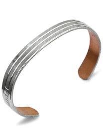 【※ポイント5倍※】SABONA LONDON(サボナ ロンドン)Classic Silver Cuff Bracelet 9mm / クラッシック シルバー カフブレスレット バングル