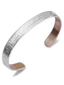 【※ポイント5倍※】SABONA LONDON(サボナ ロンドン)Olympia Silver Cuff Bracelet / オリンピアシルバー カフブレスレット バングル