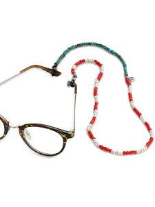 SunKu(サンク・39)American Flag Glass Holder アメリカンフラッグ グラスホルダー / [SK-173] グラスホルダー 眼鏡チェーン メガネ めがね ストラップ ネックレス ペンダント シルバー ターコイズ グ