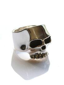 【※ポイント5倍※】Flash Point(フラッシュポイント)フラットスカルリング flat skull ring / 指輪 ドクロ 骸骨 シルバー 銀 925 ジムスカル ユニセックス メンズ レディース【送料無料】