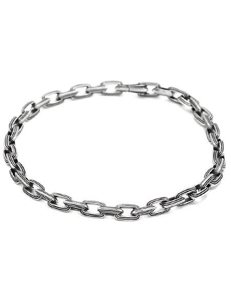 【※ポイント5倍※】M.Cohen(エム・コーエン)【5mm Equinox Link Bracelet [B-01013-SS] / イークィノックス リンク ブレスレット】[正規品](シルバー925/プレゼント)【送料無料】