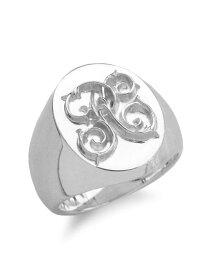 【※ポイント5倍※】PEANUTS&CO.(ピーナッツ&カンパニー)【Signet Ring (L / Silver) / シグネットリング】[正規品](指輪/スターリングシルバー/銀/925/ペア/プレゼント/ギフト/ユニセックス/メンズ/レディース)【送料無料】