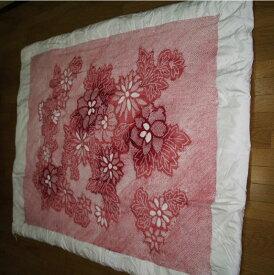 【千鶴の真綿ふとん】 三浦総絞り真綿布団(牡丹二菊)2.0kg