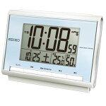 SEIKOセイコーデジタル電波時計(温度・湿度表示つき)SQ698L【楽ギフ_包装】【楽ギフ_のし】【楽ギフ_のし宛書】