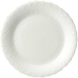 【NARUMI】 【ナルミ】 ボーンチャイナ シルキーホワイト 19cmケーキ皿 9968-1526p