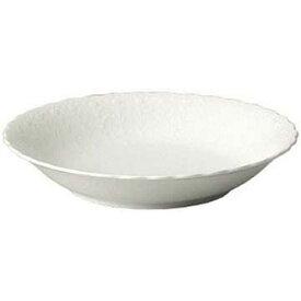 【NARUMI】 【ナルミ】 ボーンチャイナ シルキーホワイト 19cmクープスープ皿 9968-1528p