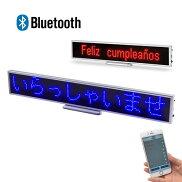LEDサインボード/LEDディスプレイサインボード看板LEDPOP小型電光掲示板高機能軽量コンパクトPOP会議会社店舗レジ前案内展示会鮮やか目立つ目印スクロールイベント告知