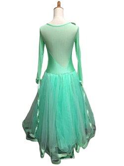 【送料無料】ドレスモダンラテンダンス衣装ダンス衣装ワンピースタンゴ衣装ドレス社交ダンスラテンドレスモダンドレス衣装グリーンdm782f0c6kc/代引き不可