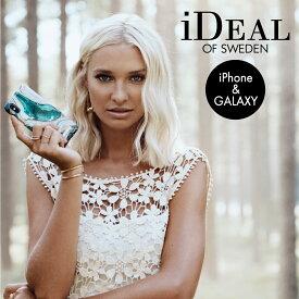 【送料無料】 スマホケース iPhone12 12mini 12Pro 11 11Pro 11ProMax XR XS X 8 7 6s 6 GALAXY S10 ハードケース GOLDEN JADE MARBLE iDeal Of Sweden スマートフォン おしゃれ ケース カバー アイフォン ギフト