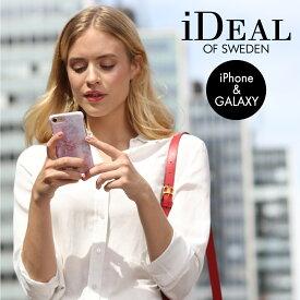 【メール便送料無料 アウトレット】 スマホケース iPhone 11 11 Pro 11 Pro max XR XS XsMax X 8Plus 7Plus 6sPlus 6Plus ハードケース PILION PINK MARBLE 正規品 iDeal Of Sweden スマートフォン おしゃれ ケース カバー ギフト プチギフト
