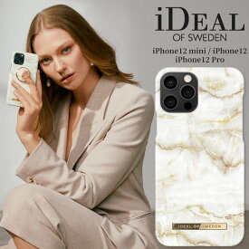 【送料無料】 スマホケース iPhone12 12mini 12Pro ハードケース GOLDEN PEARL MARBLE 金 ゴールデン パール 真珠 マーブル 大理石 iDeal Of Sweden スマートフォン おしゃれ ファッション ケース カバー アイフォン ギフト