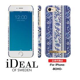 【送料無料】 スマホケース iPhoneSE 第2世代 se2 8 7 6s 6 ハードケース BOHO 正規品 iDeal Of Sweden スウェーデン ブランド 携帯 スマートフォン おしゃれ ケース カバー iPhoneケース ギフト