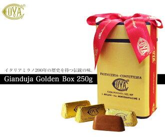COVAコヴァジャンドゥーヤゴールデンボックス高级巧克力糖250g