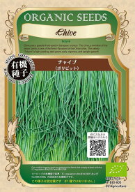 【有機種子】チャイブ(ポリビット)グリーンフィールドプロジェクトのタネ