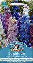 【輸入種子】Mr.Fothergill's SeedsDelphinium High Society Mixed F1デルフィニウム・ハイ・ソサエティ・ミックス・F…