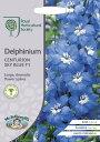 【輸入種子】Mr.Fothergill's SeedsRoyal Horticultural SocietyDelphinium Centurion Sky Blue F1RHS デルフィニウムセンチュリオン・スカイ・ブルー・F1ミスター・フォザーギルズシード