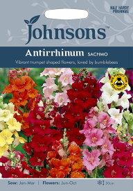 【輸入種子】Johnsons SeedsAntirrhinum Sachmo アンチヒナム(金魚草) サッチモジョンソンズシード