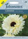 【輸入種子】Johnsons SeedsCalendula SNOW PRINCESSカレンデュラ(キンセンカ)スノー・プリンセスジョンソンズシード