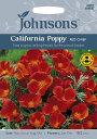 【輸入種子】Johnsons SeedsCalifornia_Poppy Red Chiefカリフォルニアポピー(エスコルシア) レッド・チーフジョン…
