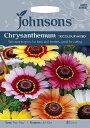 【輸入種子】Johnsons SeedsChrysanthemum TRICOLOUR MIXEDクリサンセマム・トリカラー・ミックスジョンソンズシード