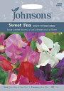 【輸入種子】Johnsons SeedsSweet Pea GIANT WAVED MIXEDスイート・ピー ジャイアント・ウェーブ・ミックスジョンソン…