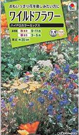 【種子】ワイルドフラワー ハイドロカラーミックス タキイ種苗のタネ